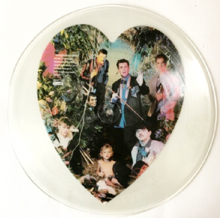 Frankie Goes To Hollywood ‎- Welcome To The Pleasuredome (LP)  (Picture Disc) (VG-/NM)